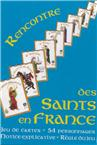 Jeu de cartes Rencontre des Saints en France