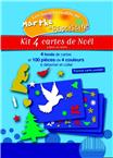 Lot de 10 - kits cartes Noel